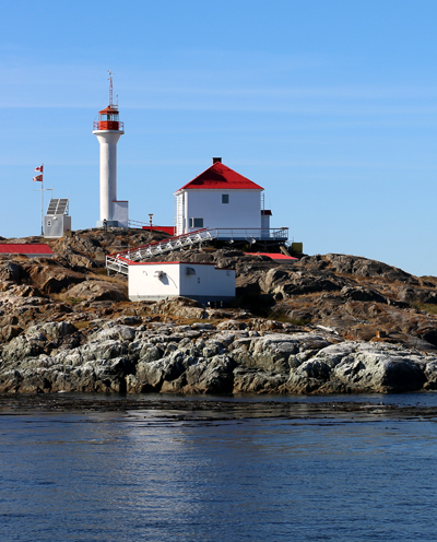 Lighthouse in the Gulf Islands
