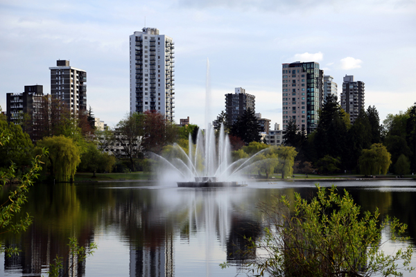 Lost Lagoon in Stanley Park
