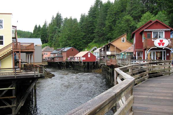 Creek Street In Ketchikan Alaska West Coast Living Canada